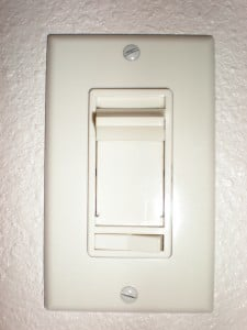 dirty electricity dimmer switch