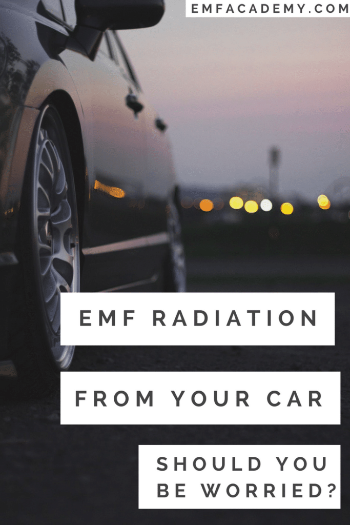 Emf radiation in cars