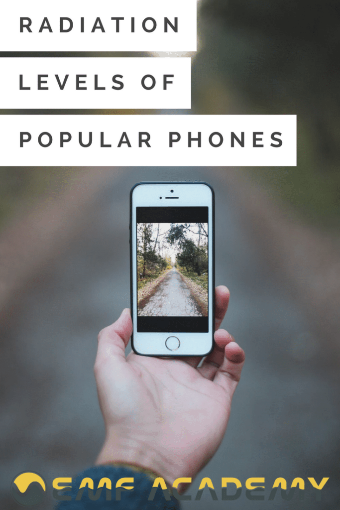 Radiation Levels of Popular Phones