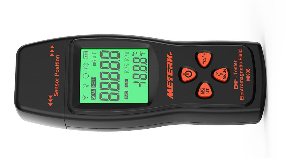The BEST Low-Cost EMF Meter? Meterk EMF Meter Review