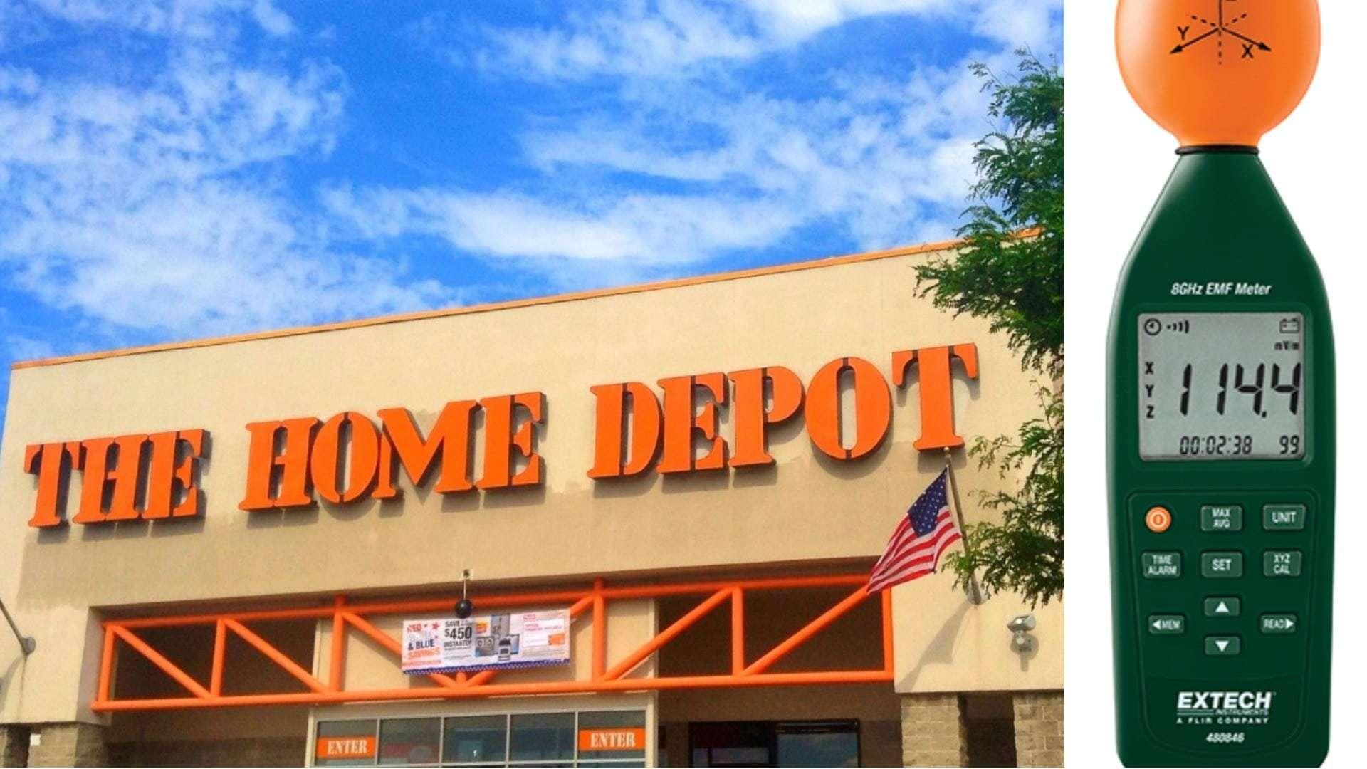 Home Depot EMF Meter