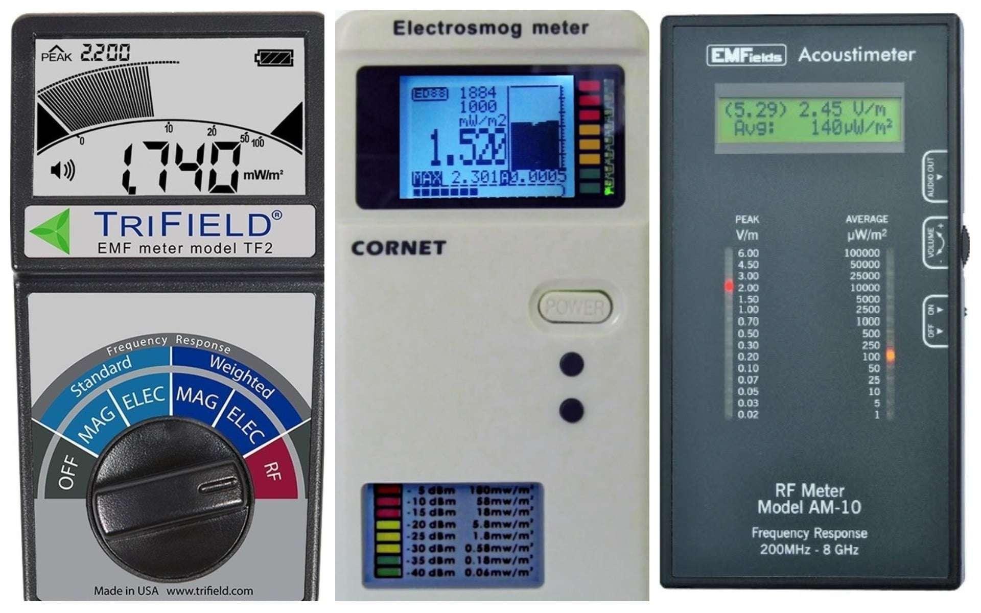 5 Best EMF Meters and Detectors of 2019 - EMF Academy