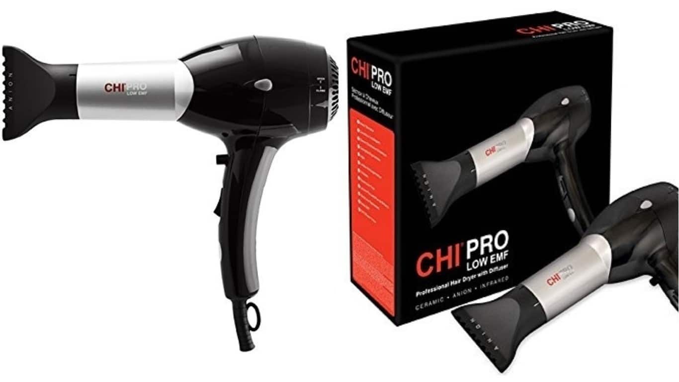 chi hair dryer chi pro low emf hair dryer review emf academy 31494