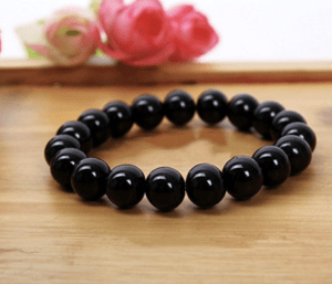 Hitreasure Tourmaline Bead Negative Ion Bracelet