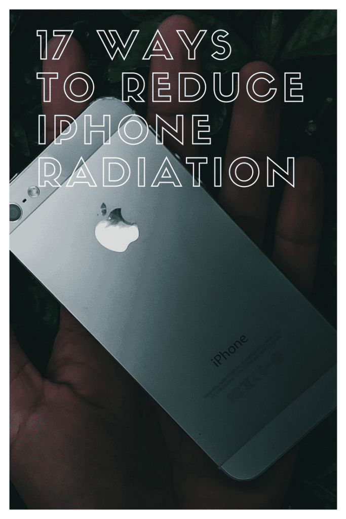 Reduce iPhone Radiation Pinterest Image