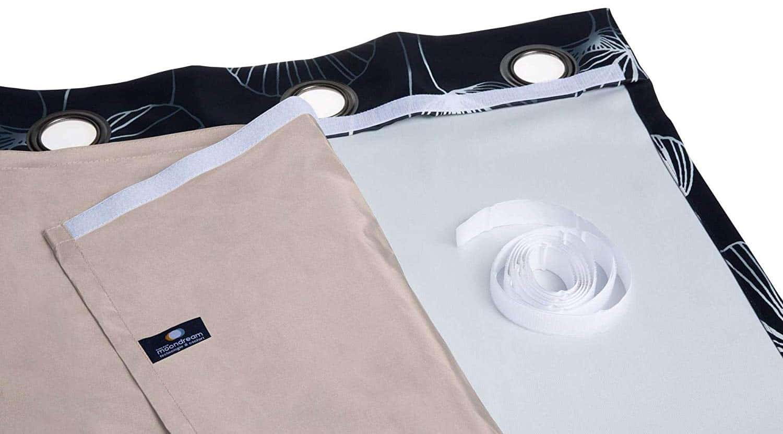Anti Radiation Curtain Liner From Moonbeam